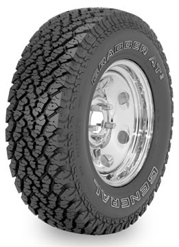 Llantas GENERAL TIRE GRABBER AT 215/75 R14 S