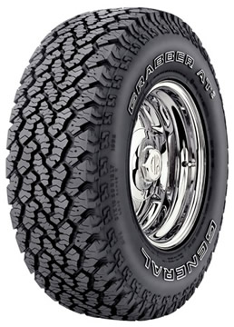 Llantas GENERAL TIRE GRABBER AT2 255/70 R16 S